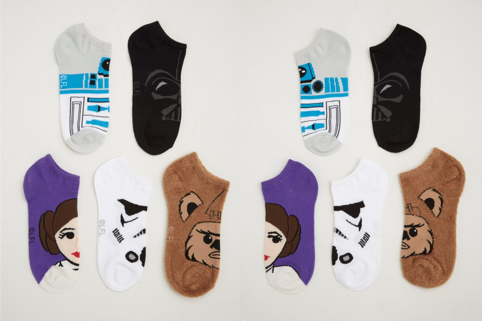 Women's Star Wars Ankle Sock 5-Pack