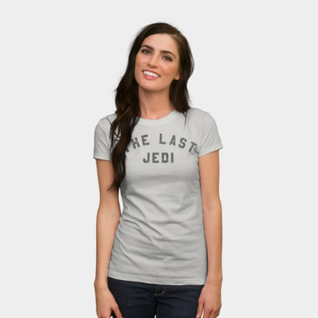 Women's Star Wars The Last Jedi Collegiate t-shirt at Design By Humans