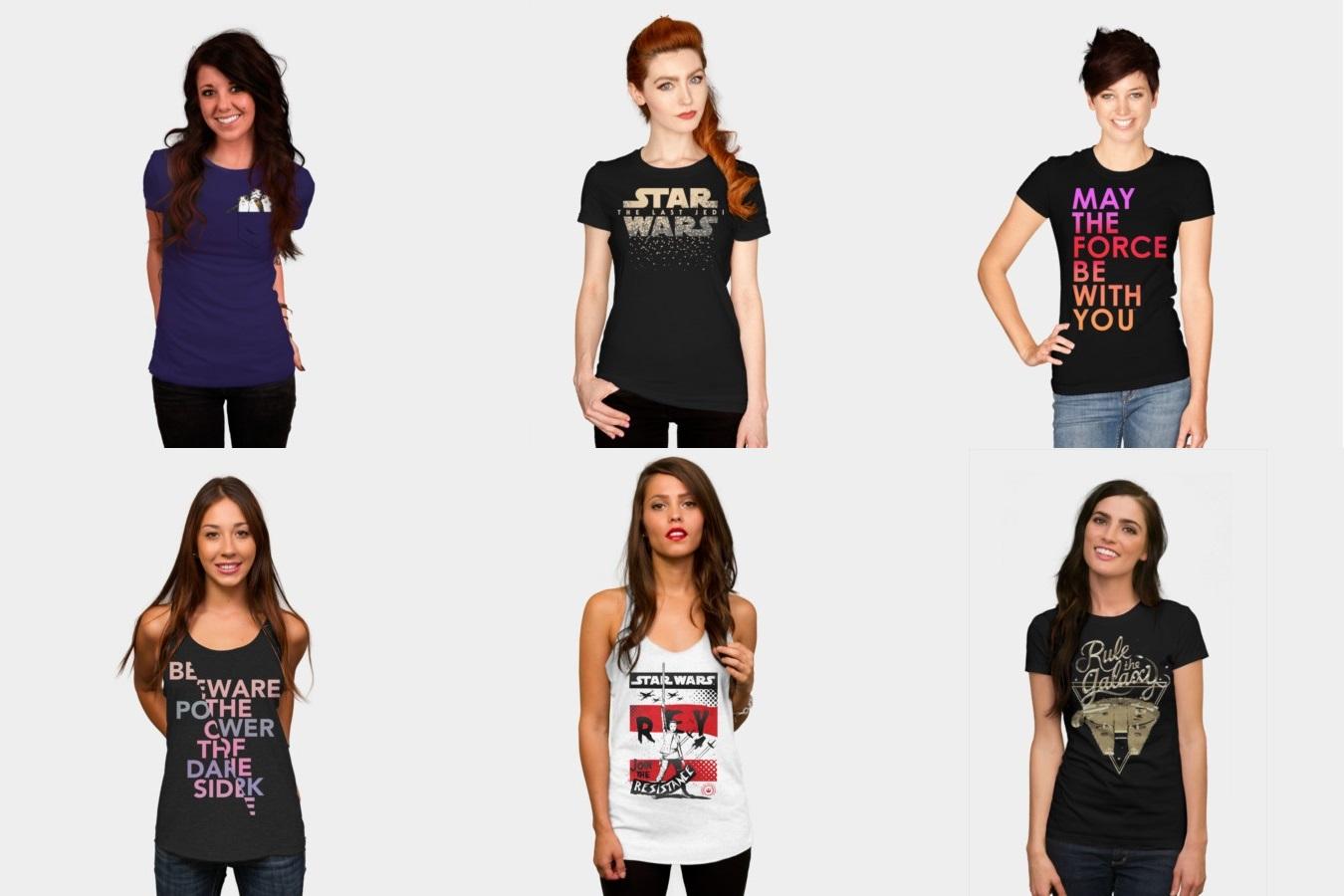 Design By Humans x The Last Jedi Apparel