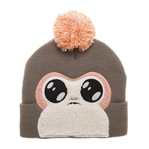 Bioworld x Star Wars The Last Jedi Porg pom beanie
