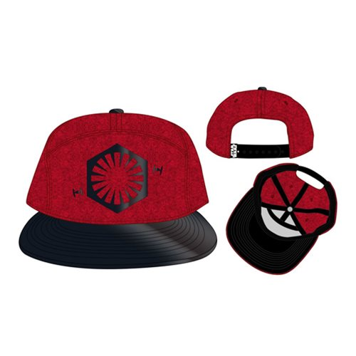 Bioworld x Star Wars The Last Jedi First Order Salt Planet snapback hat at Entertainment Earth