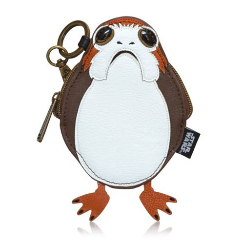 Loungefly x Star Wars The Last Jedi Porg coin purse at Entertainment Earth