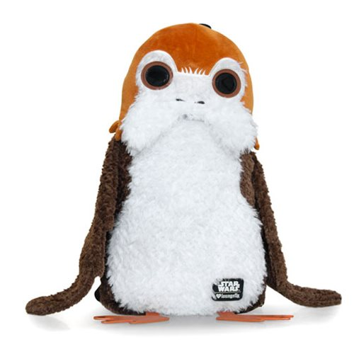 Loungefly x Star Wars The Last Jedi Porg plush backpack at Entertaiment Earth