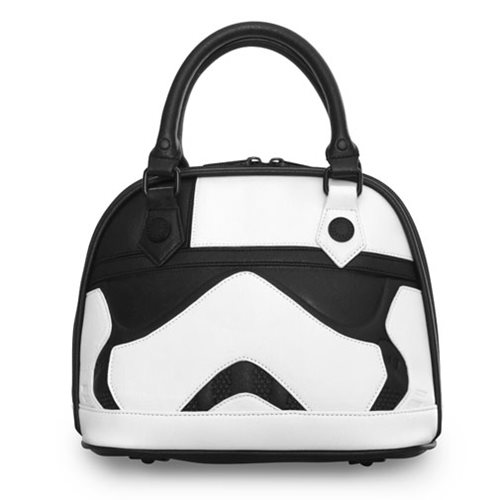 Loungefly x Star Wars The Last Jedi Executioner Trooper dome handbag at Entertainment Earth