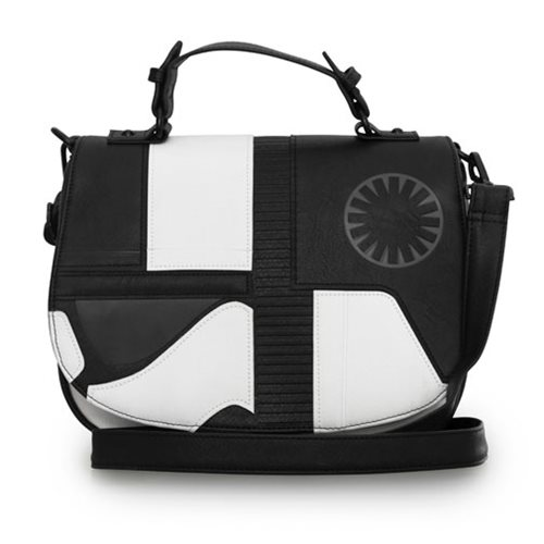 Loungefly x Star Wars The Last Jedi Executioner Trooper crossbody bag at Entertainment Earth