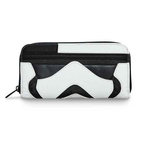 Loungefly x Star Wars The Last Jedi Executioner Trooper zip around wallet at Entertainment Earth