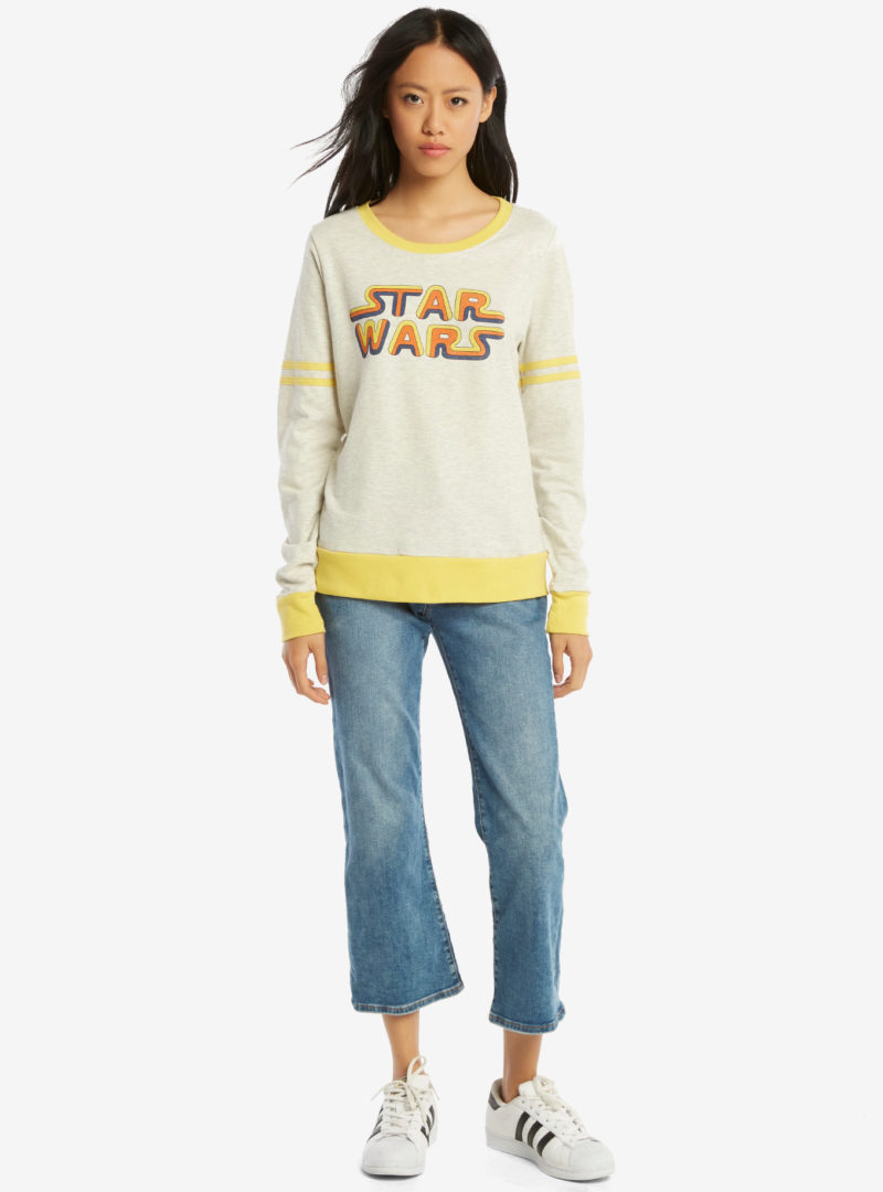 Women's Her Universe x Star Wars classic logo athletic pullover