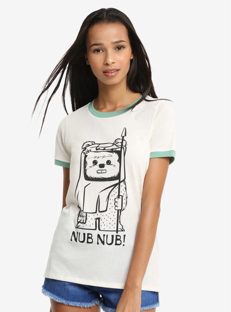 Women's Her Universe x Star Wars Ewok nub nub t-shirt
