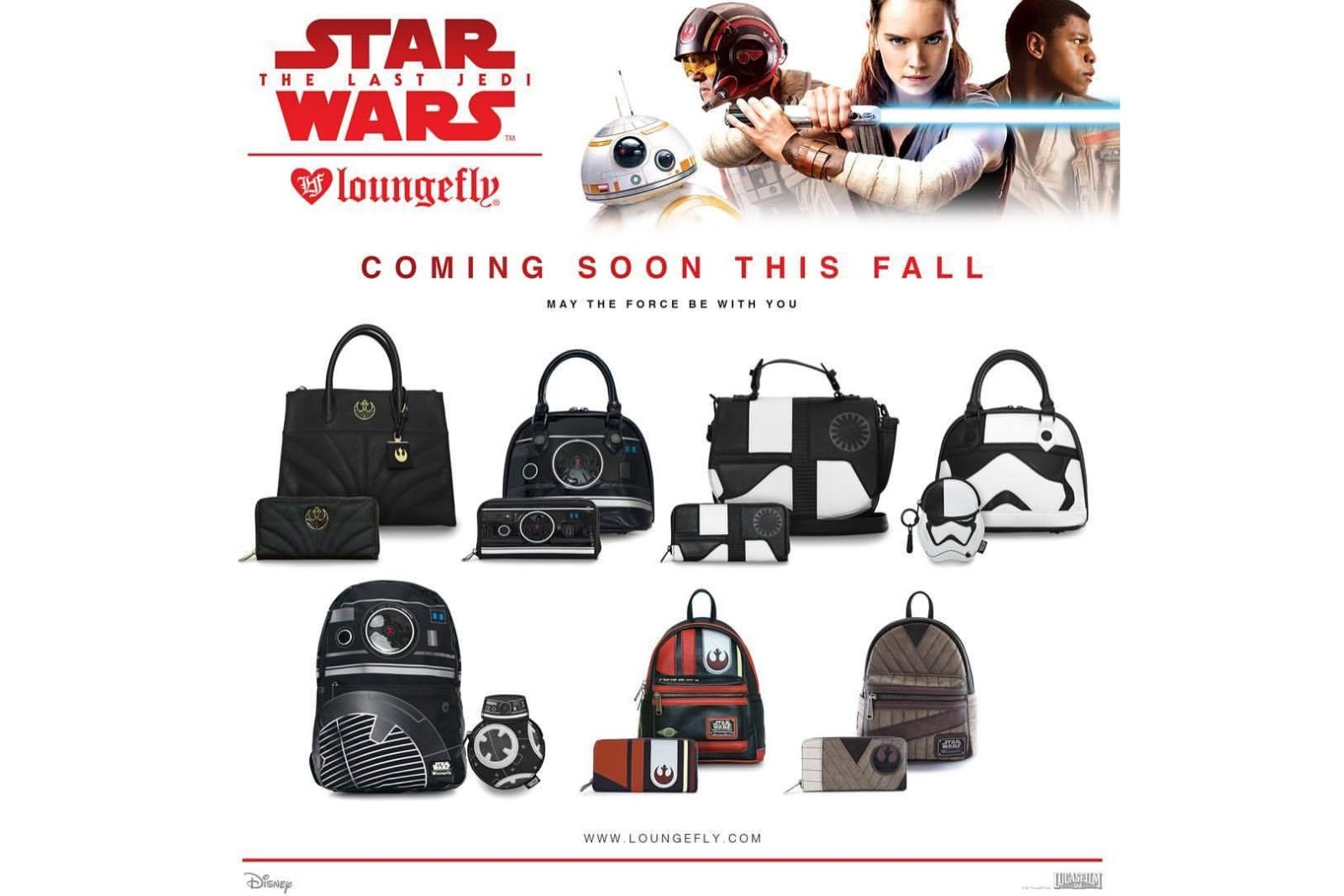 Loungefly x The Last Jedi Range Preview!