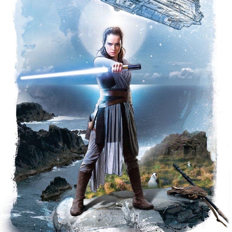 Women's Po-Zu x Star Wars The Last Jedi Rey Hi boots