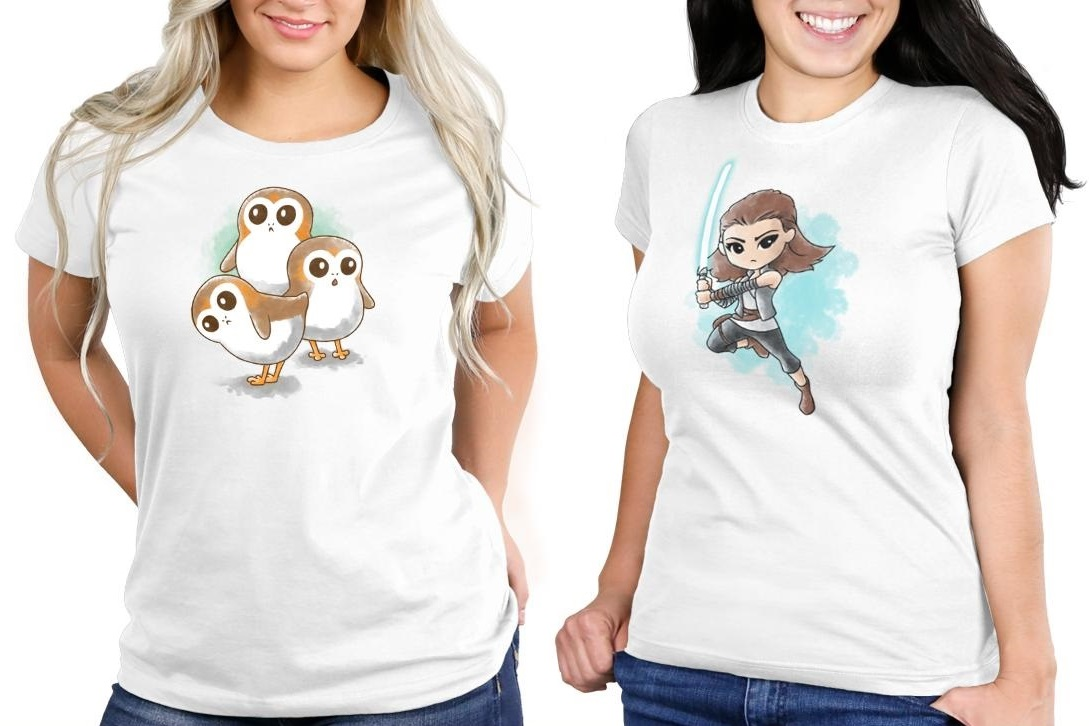 Star Wars The Last Jedi Tees at TeeTurtle