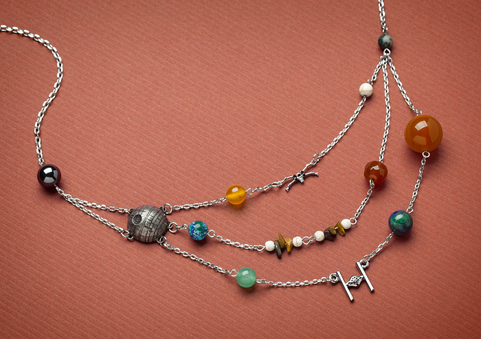 Body Vibe x Star Wars Galactic necklace at ThinkGeek