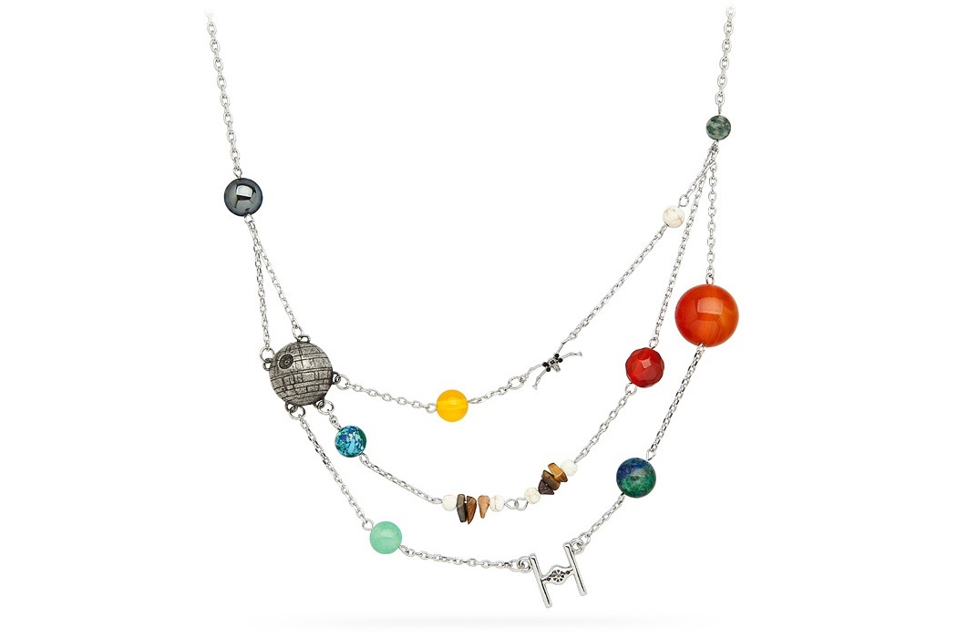 Star Wars Galactic Necklace at ThinkGeek