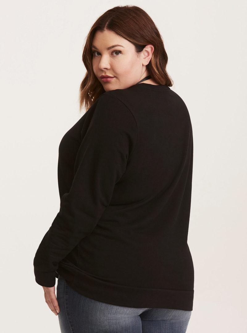 Women's Her Universe x Star Wars Darth Vader plus size sweatshirt at Torrid
