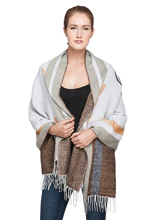Star Wars BB-8 blanket scarf available at ThinkGeek