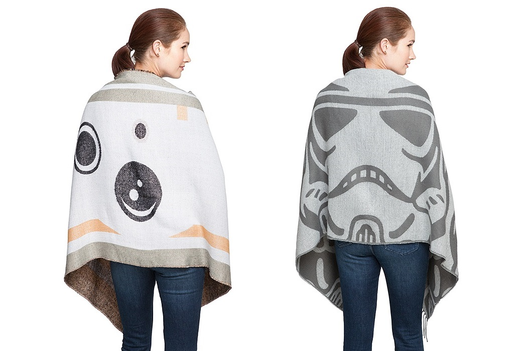Star Wars BB-8 & Stormtrooper Blanket Scarves