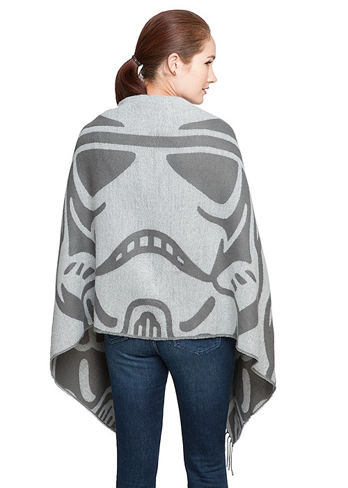 Star Wars Stormtrooper blanket scarf available at ThinkGeek