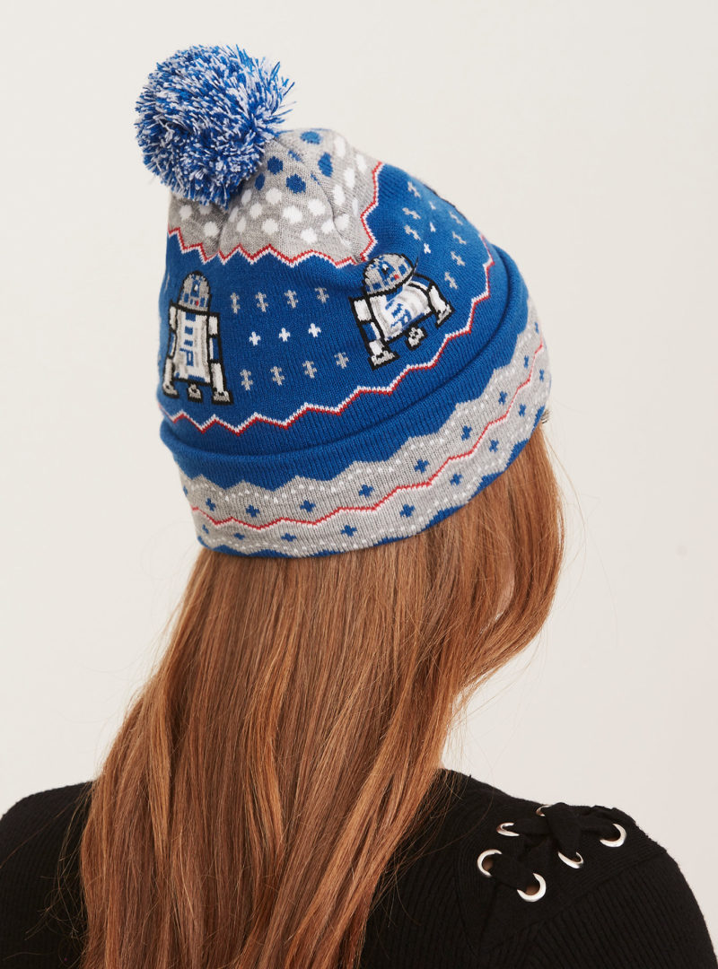 Women's Star Wars R2-D2 knitted beanie at Torrid