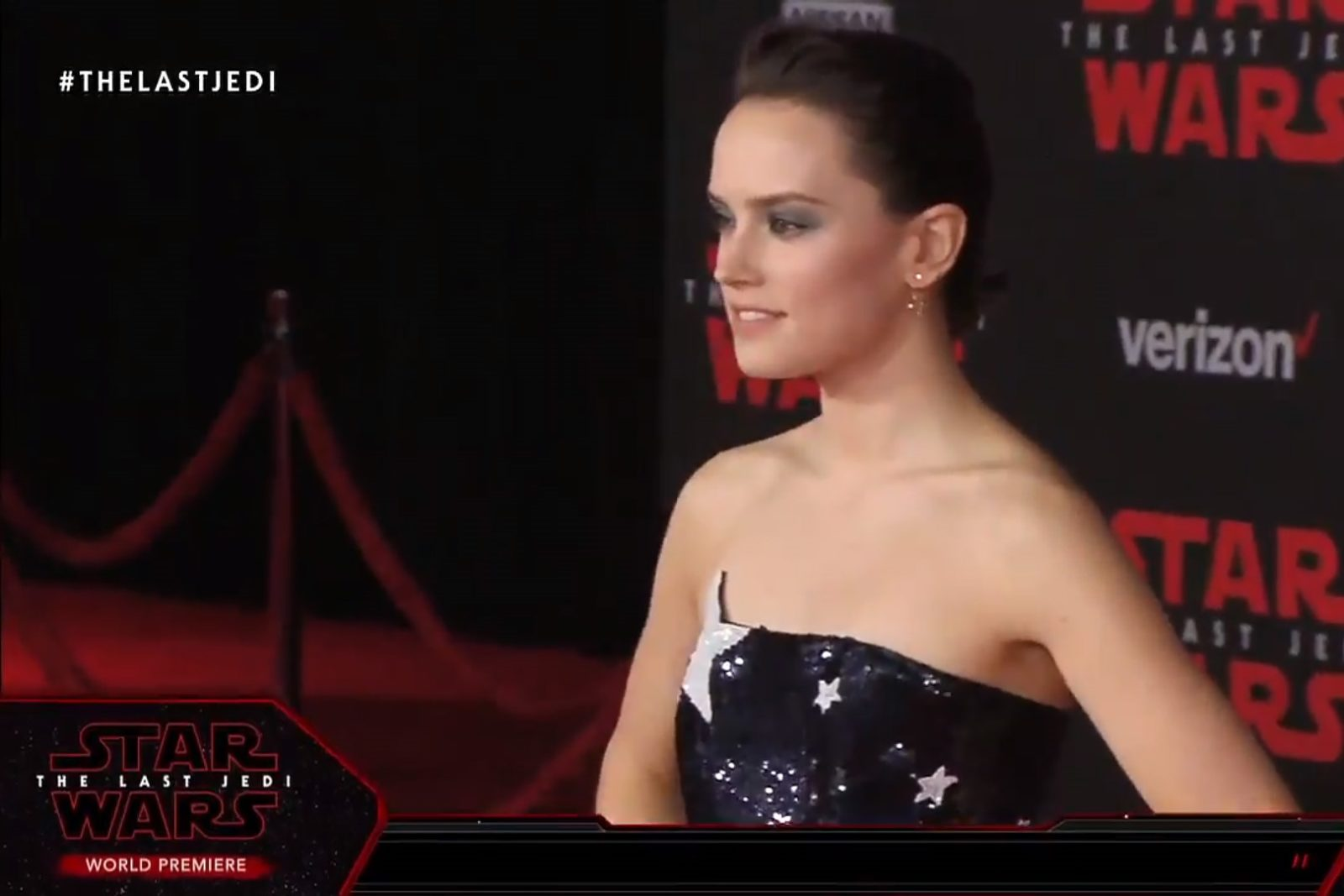 Star Wars Actresses on the TLJ Red Carpet