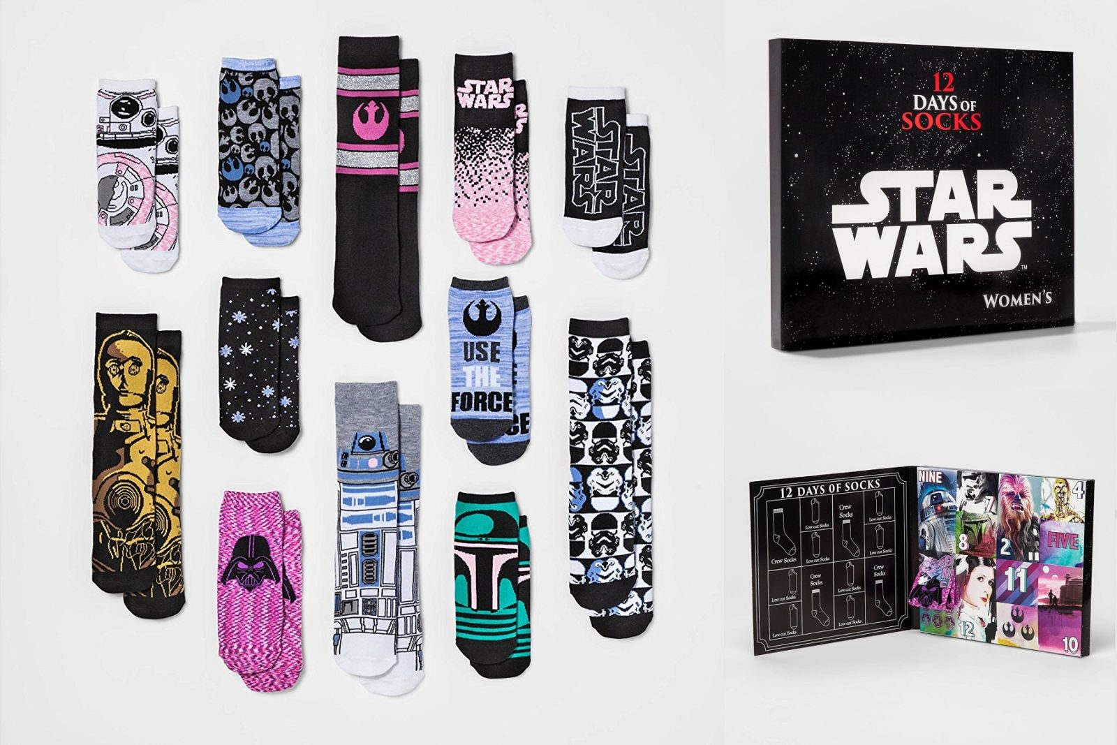 Women's Star Wars Sock Advent Calendar