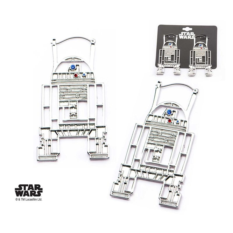 Body Vibe x Star Wars R2-D2 hoop earrings on Amazon