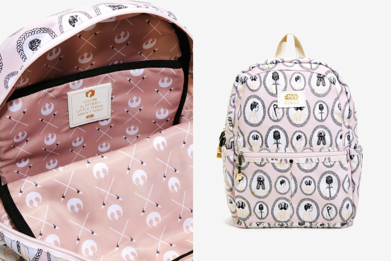 State Princess Leia Backpack at Box Lunch
