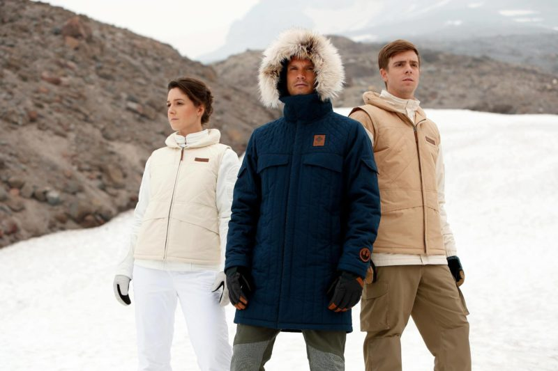 Columbia Sportswear x Star Wars Hoth limited edition jacket collection