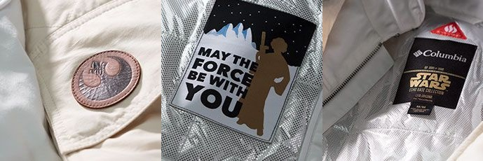 Columbia Sportswear x Star Wars Hoth Princess Leia limited edition jacket