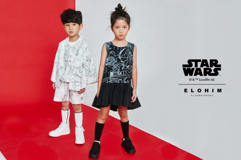 Star Wars X Elohim By Sabrina Goh Synthesis fashion collection inspired by The Last Jedi