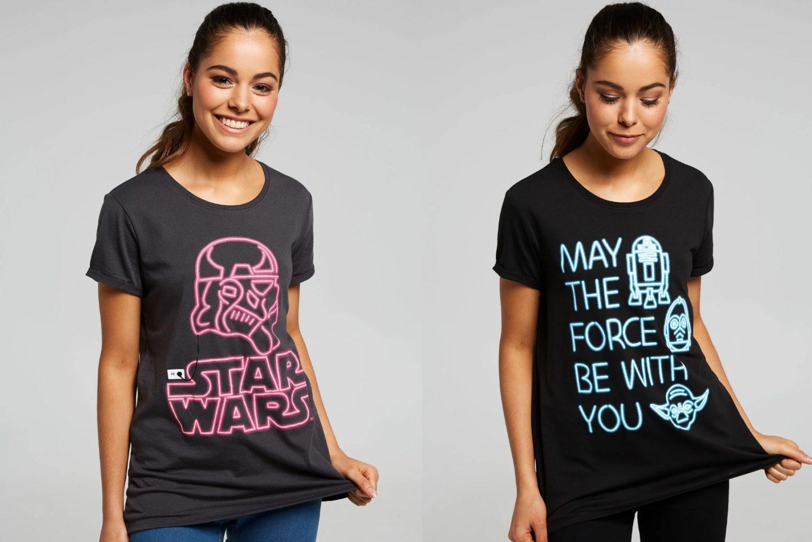 New Star Wars Neon Printed Tees at Jay Jays