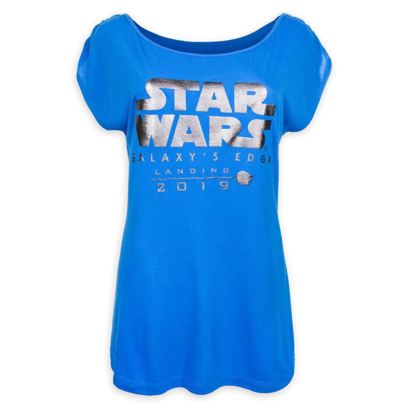 Disney Parks Star Wars Galaxy's Edge women's tee at Shop Disney
