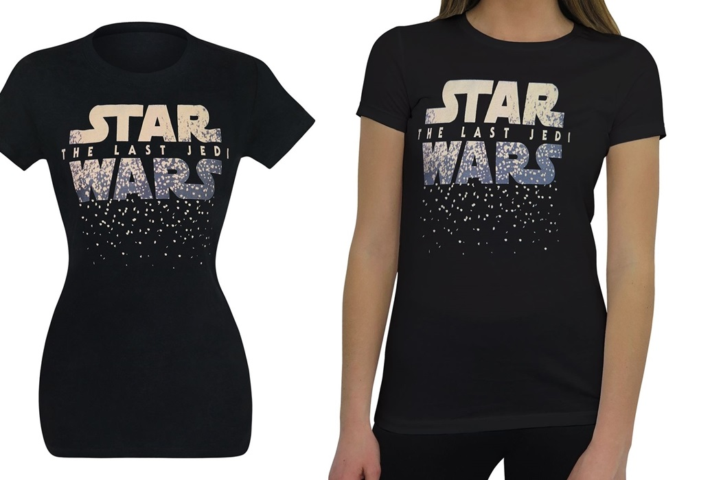 Women's Star Wars The Last Jedi Logo Tee