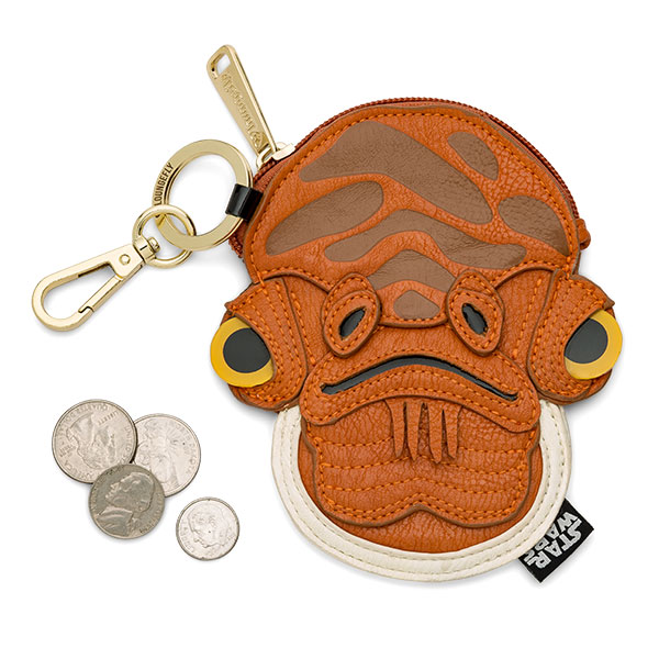 Loungefly X Star Wars Admiral Ackbar Coin Purse At Thinkgeek