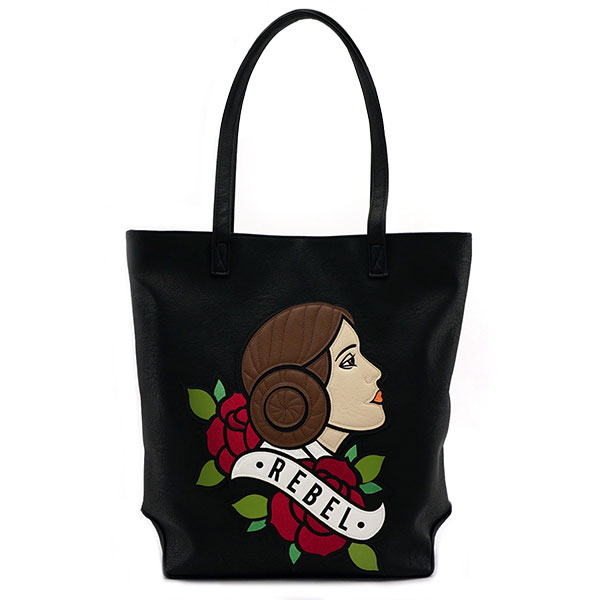 Loungefly x Star Wars Princess Leia tote bag at ThinkGeek