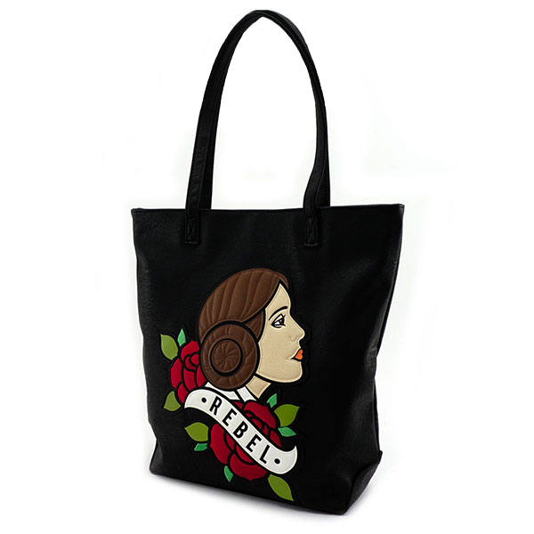 Loungefly x Star Wars Princess Leia tote bag at ThinkGeek