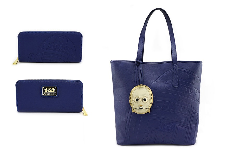 Loungefly R2-D2 Tote & Wallet at ThinkGeek