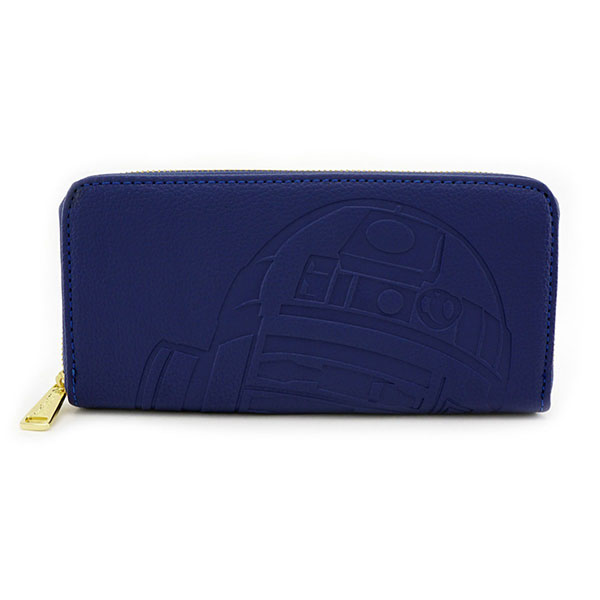 Loungefly x Star Wars R2-D2 debossed faux leather wallet at ThinkGeek