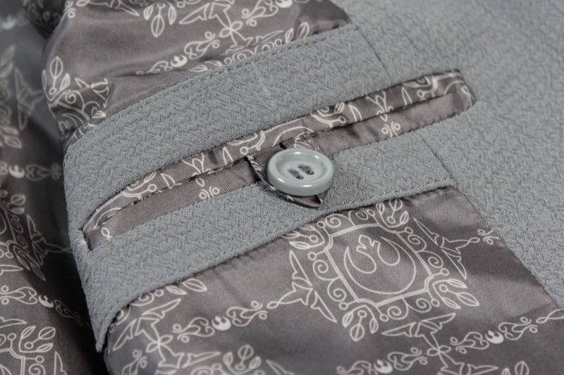 Review - Women's ThinkGeek exclusive Star Wars Rey blazer by Robe Factory