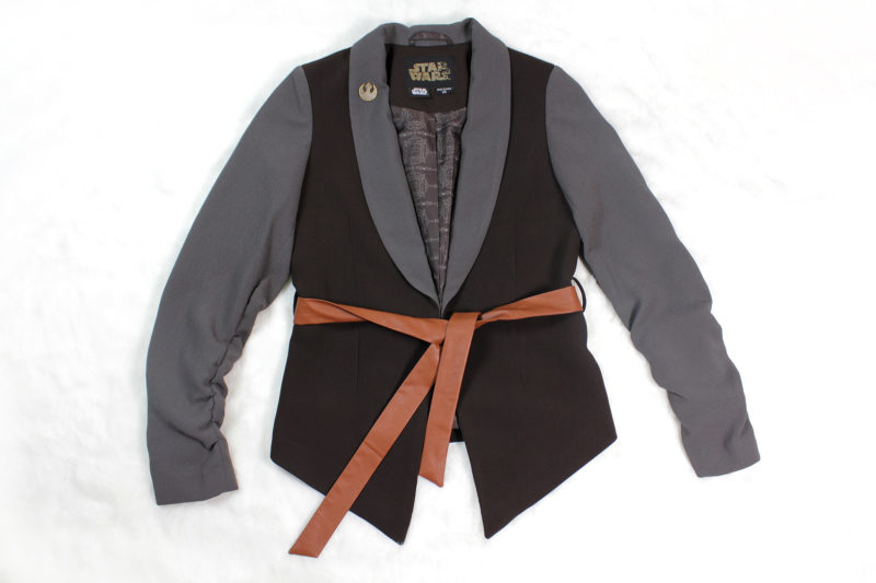 Review - Women's ThinkGeek exclusive Star Wars Rey blazer by Robe Factory