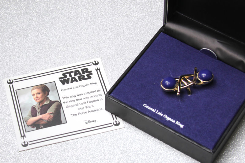 Body Vibe x Star Wars General Leia Organa replica ring