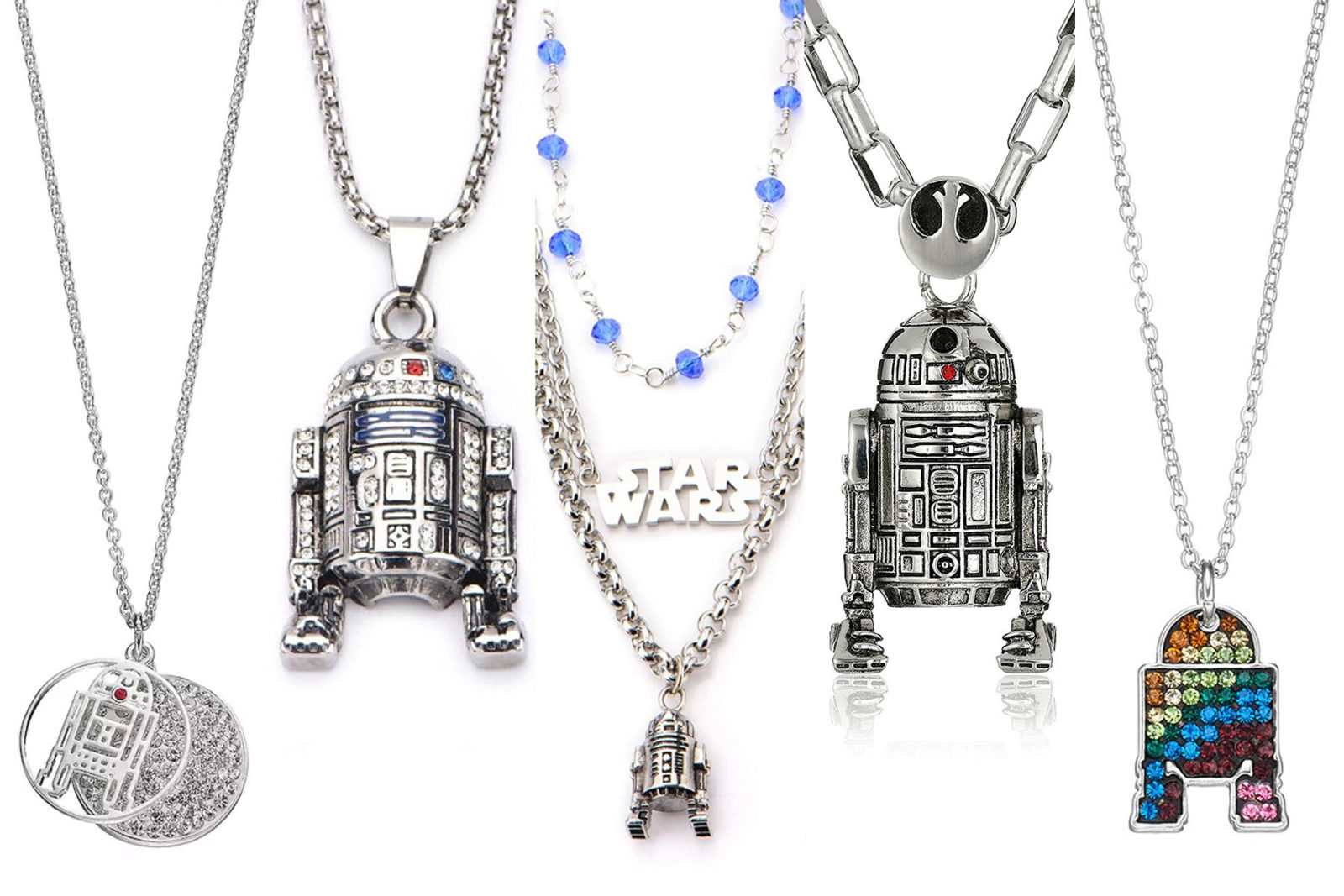 Leia's List – R2-D2 Necklaces