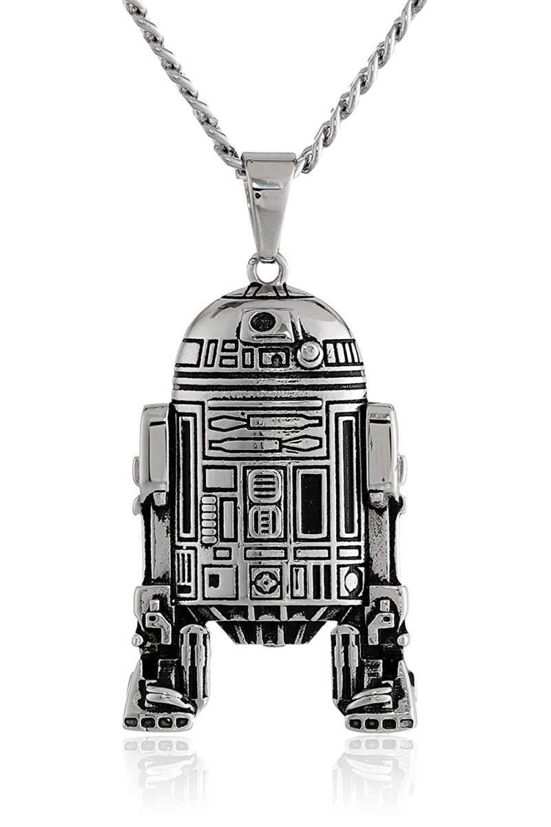 Body Vibe x Star Wars R2-D2 necklace at Amazon