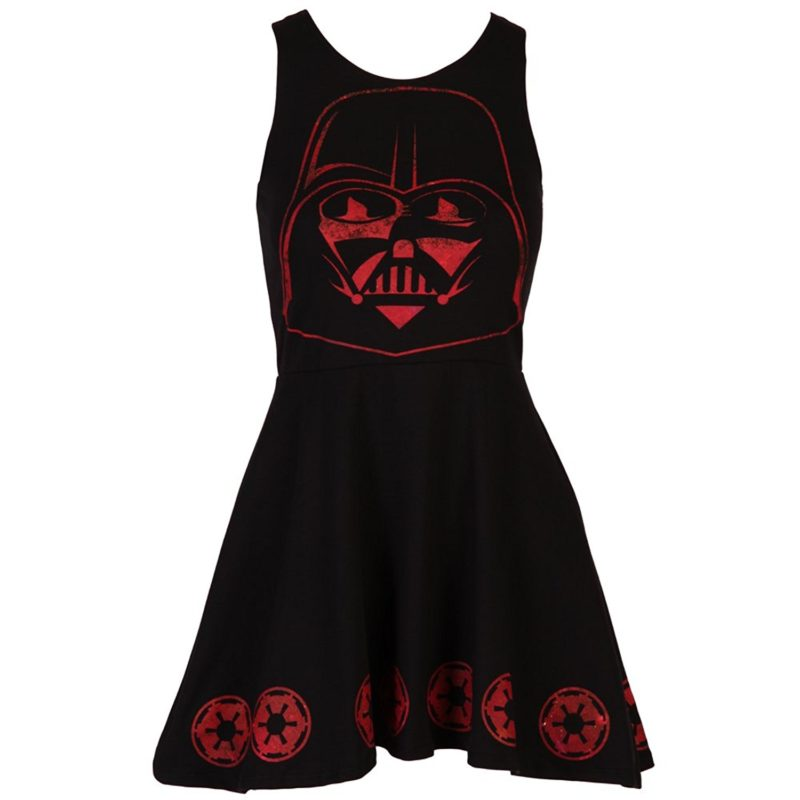 Star Wars Darth Vader Imperial Forces skater dress on Amazon