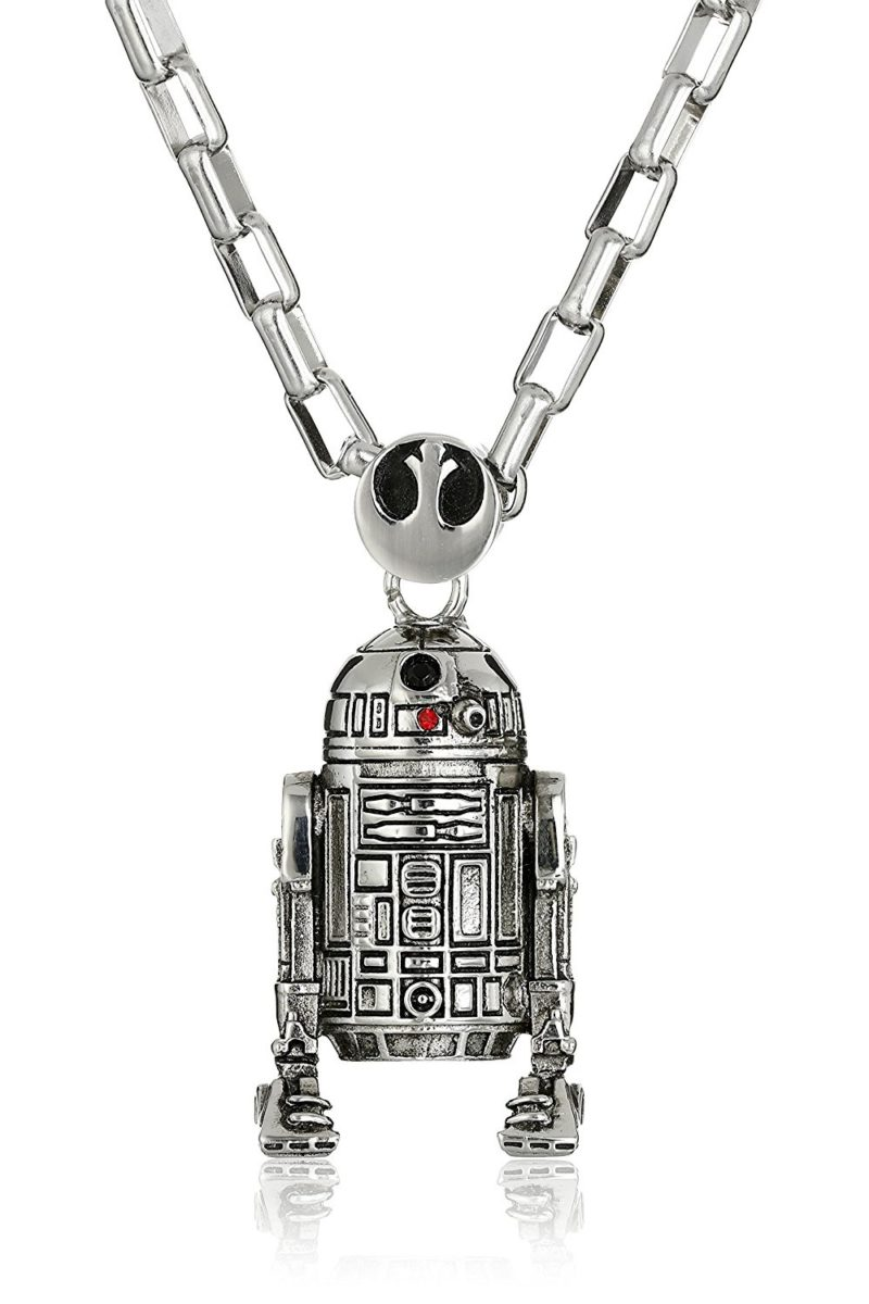 Han Cholo x Star Wars R2-D2 necklace at Amazon