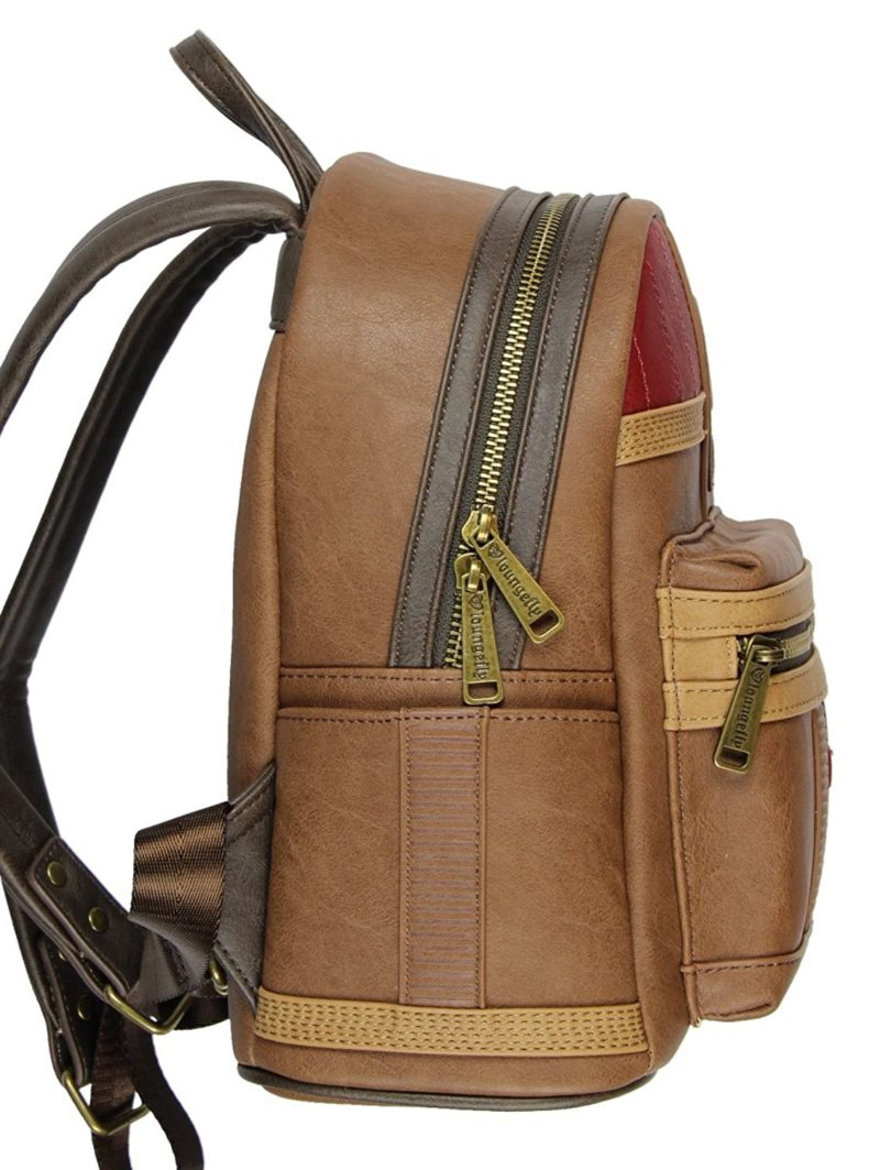 Loungefly x Star Wars The Last Jedi Finn cosplay style mini backpack at Amazon