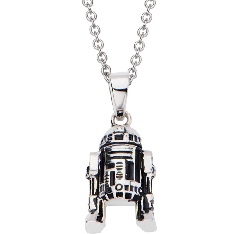 Star Wars R2-D2 Stainless Steel necklace at Amazon