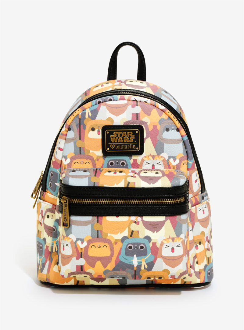 Loungefly x Star Wars ewok mini backpack at Box Lunch