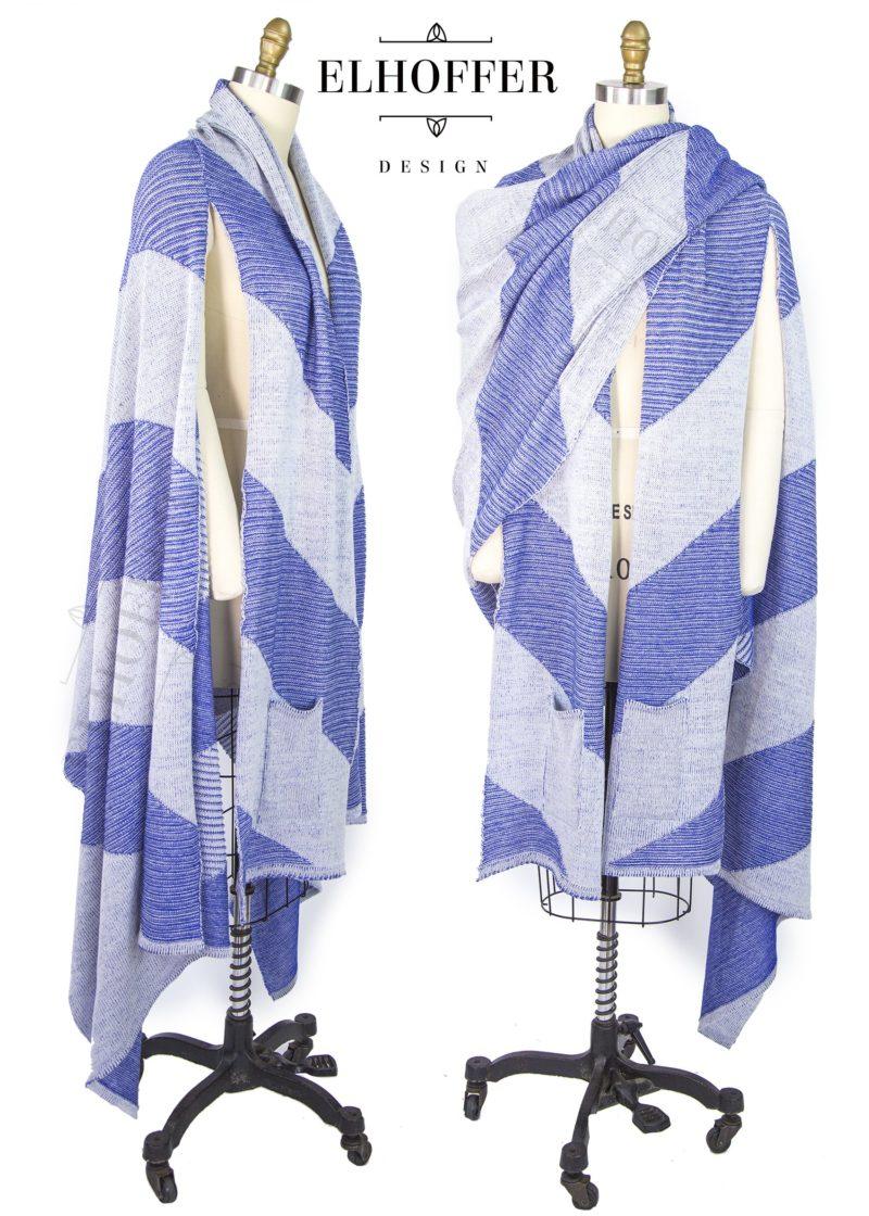 Galactic Snips Star Wars Ahsoka Tano inspired longline cardigan by Elhoffer Design