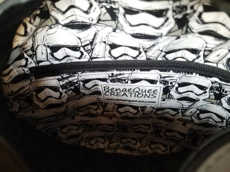 Star Wars Imperial Academy handbag made by Etsy seller BenaeQuee Creations