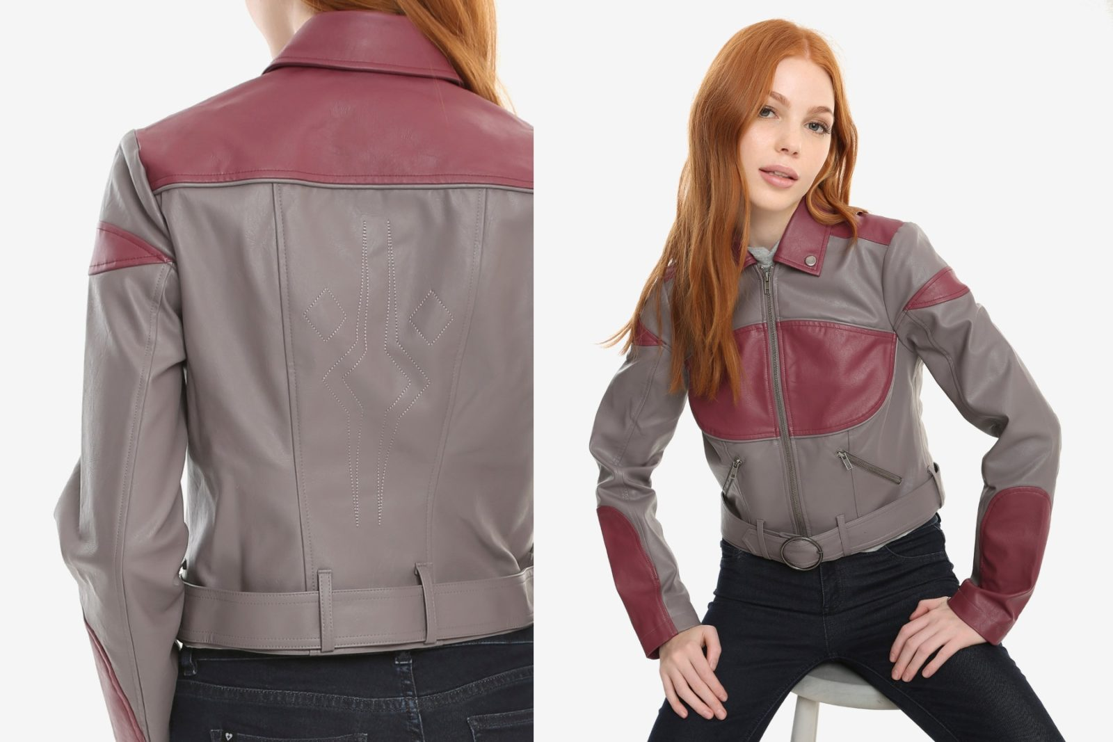 Her Universe Ahsoka Tano Faux Leather Jacket
